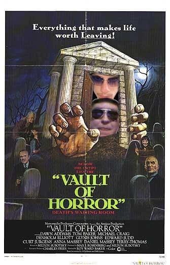 The Vault of Horror: la locandina del film