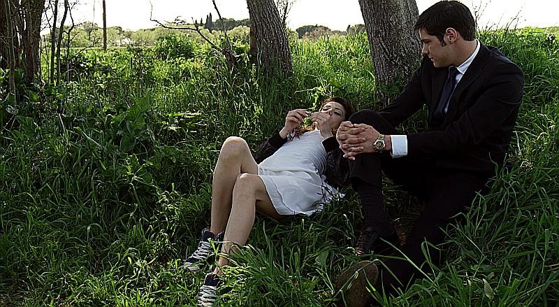 Un giorno speciale: Giulia Valentini e Filippo Scicchitano in una scena del film