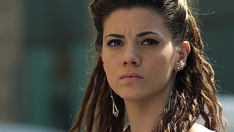 Un giorno speciale: Giulia Valentini nei panni di Gina in una scena del film