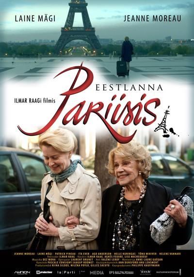 Une Estonienne à Paris: la locandina del film
