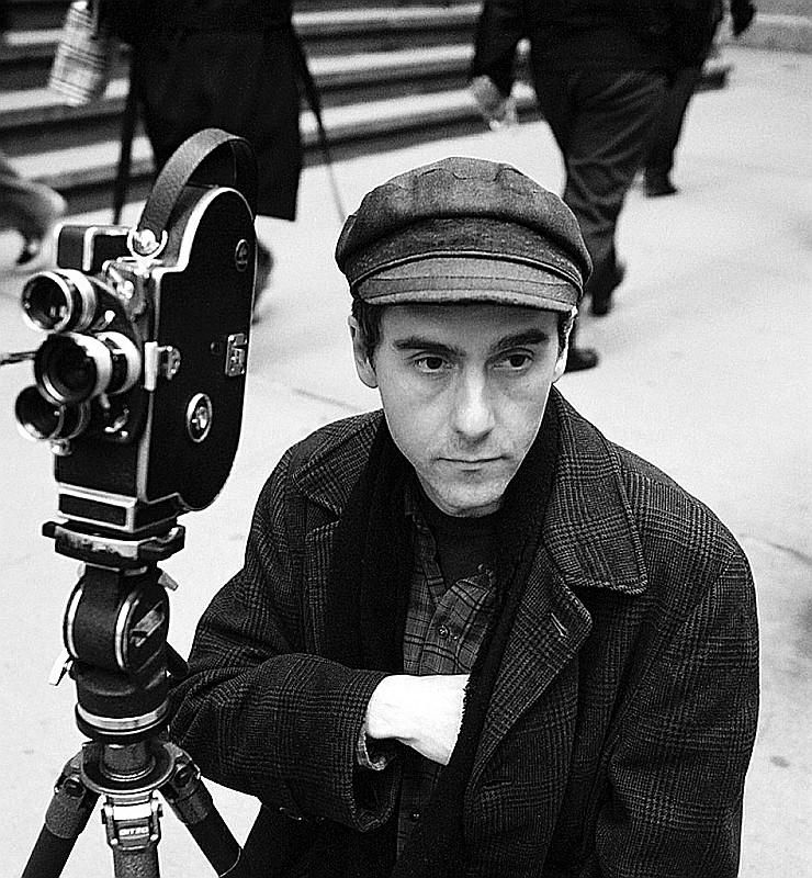 Il regista Jem Cohen sul set