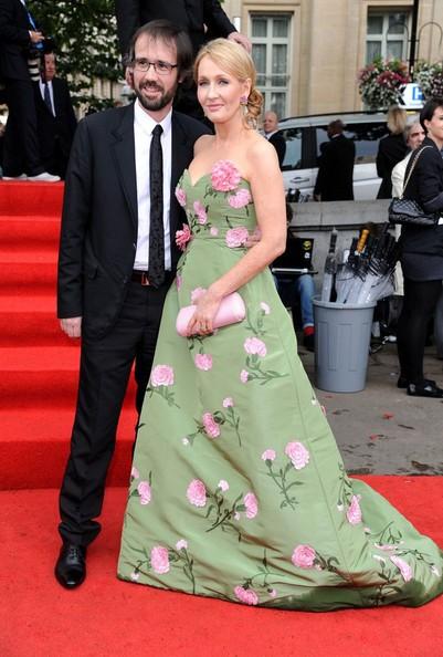 J.K. Rowling con suo marito Neil Murray alla premiere di Harry Potter e i doni della morte - parte 2
