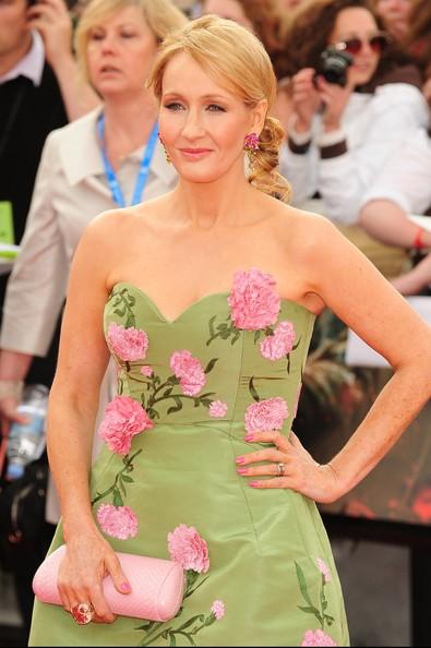 J.K. Rowling in abito elegante ad una premiere