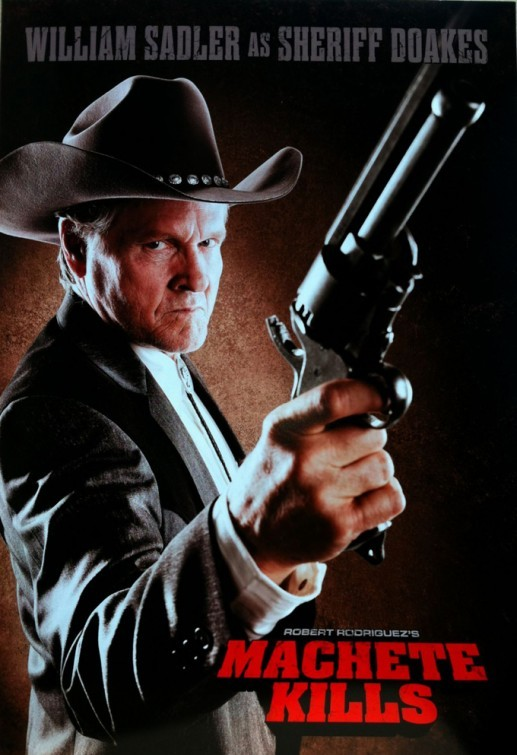 Machete Kills: ecco il character poster di William Sadler