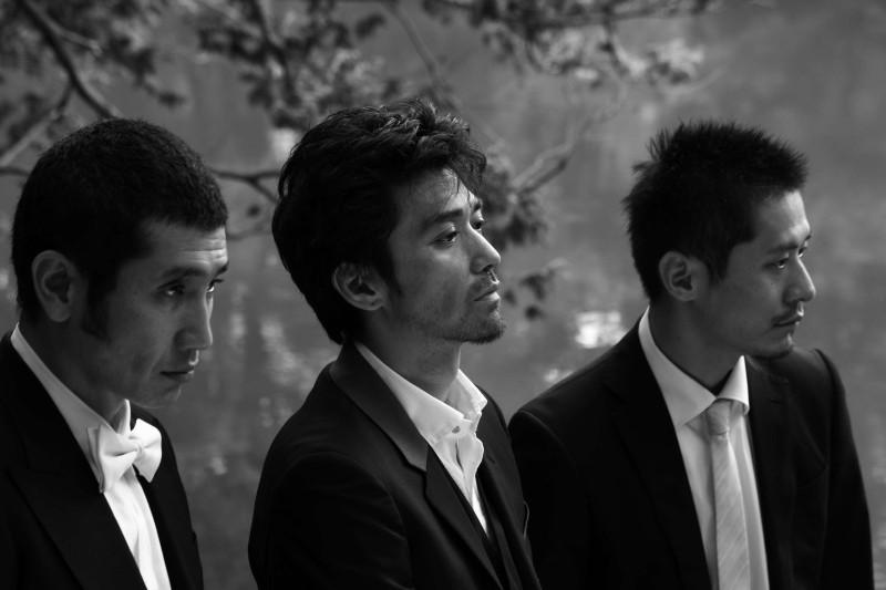 Playback: Jun Murakami, Masaki Miura e Kiyohiko Shibukawa in una scena