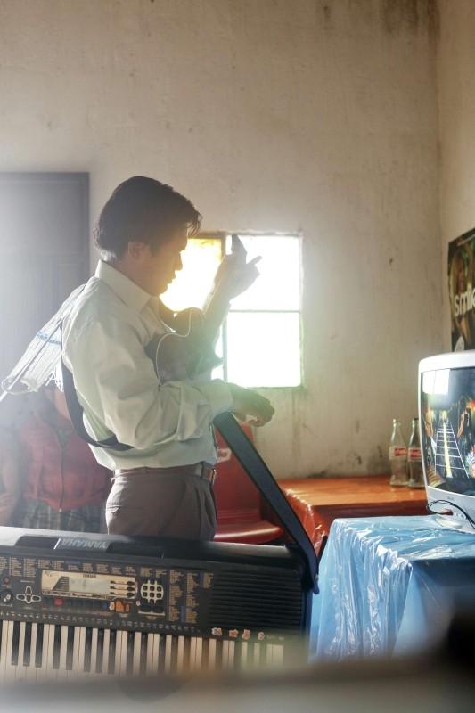 Polvo: il protagonista del film Agustin Ortíz Pérez in una scena