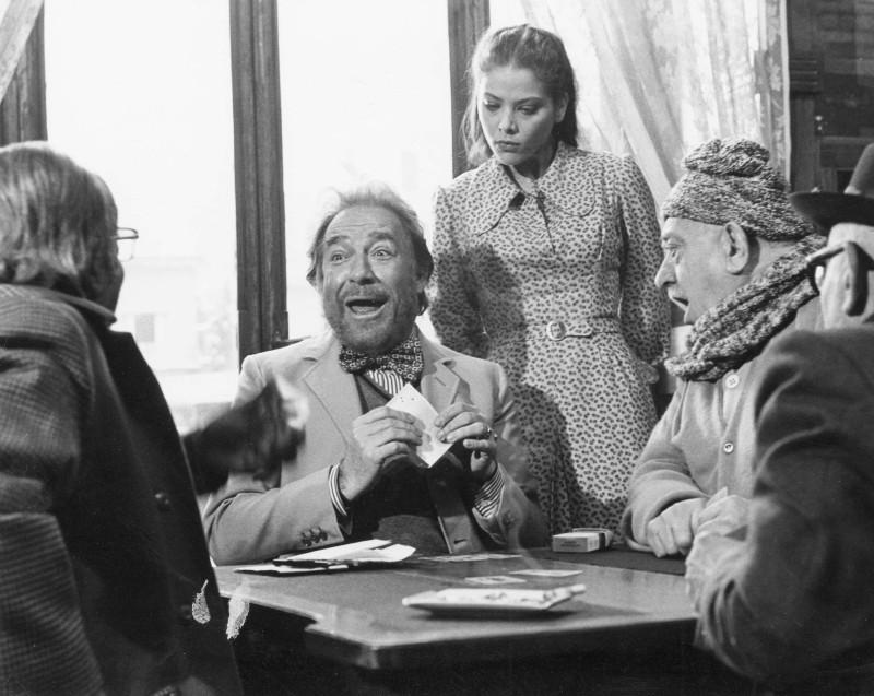 Primo amore: il grande Ugo Tognazzi insieme ad Ornella Muti in una scena del film
