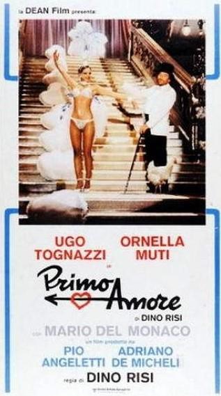 Primo amore: la locandina del film diretto da Dino Risi