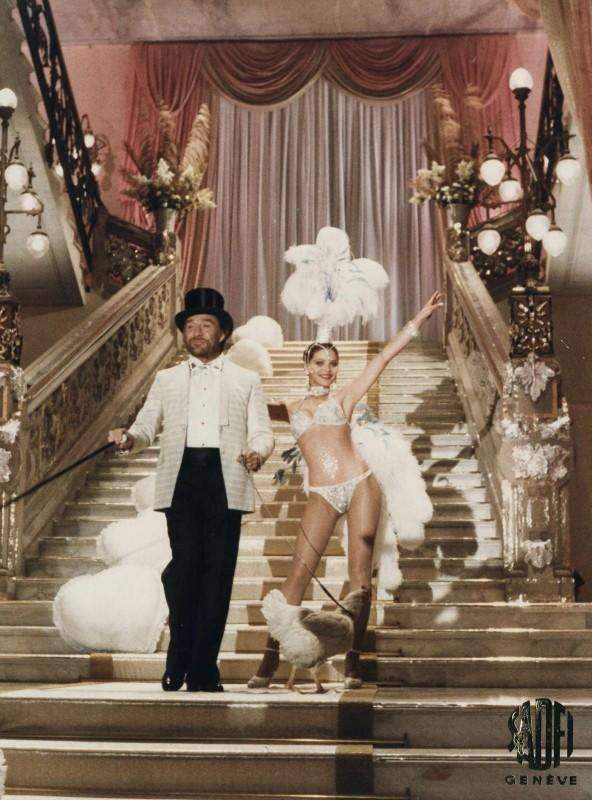 Primo amore: Ugo Tognazzi insieme ad una bellissima Ornella Muti in una scena del film