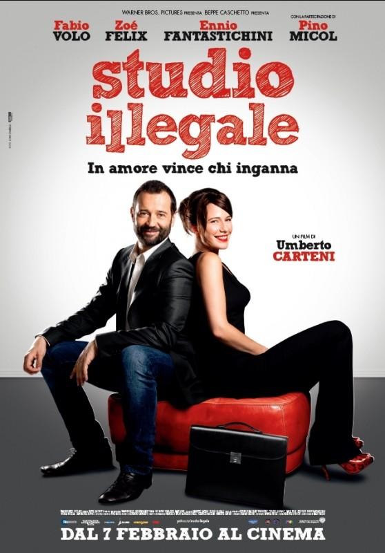 Studio illegale: la locandina del film