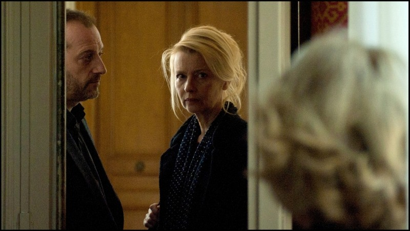 Une Estonienne à Paris: Laine Mägi in una scena con Patrick Pineau