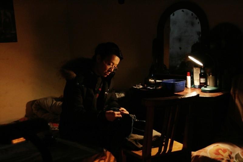 When Night Falls: Nai An in una scena del film