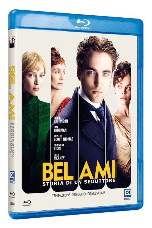 La copertina di Bel Ami - Storia di un seduttore (blu-ray)