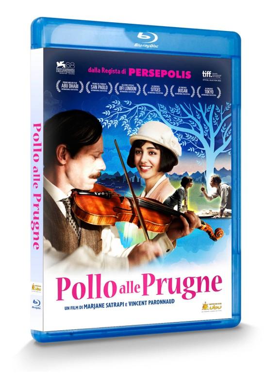 La copertina di Pollo alle prugne (blu-ray)