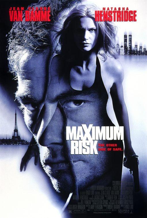 Maximum Risk: la locandina del film