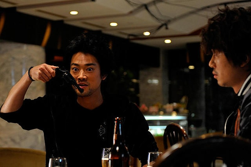 Outrage Beyond: Hirofumi Arai in una scena del sequel action di Takeshi Kitano