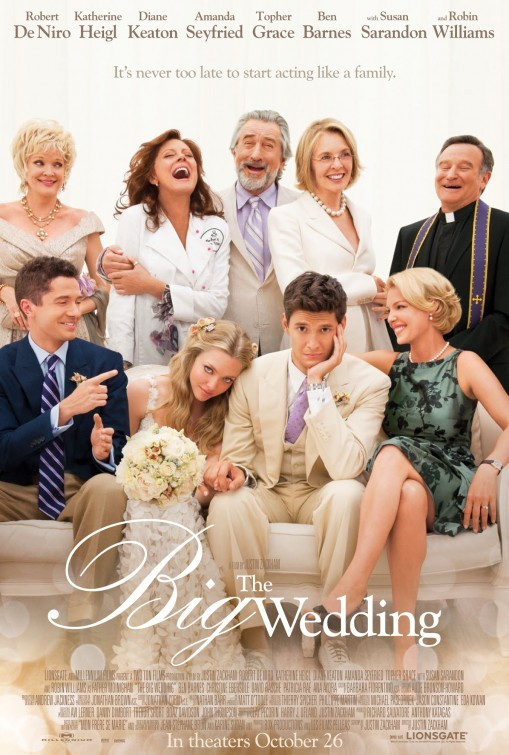 The Big Wedding: nuovo poster USA