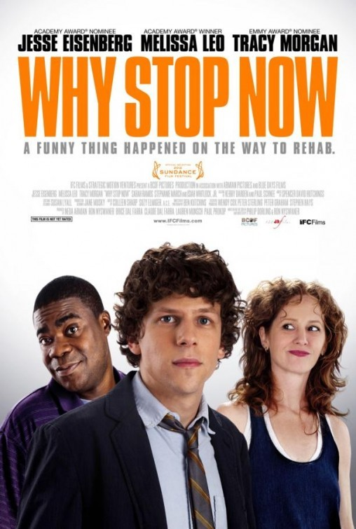 Why Stop Now: nuovo poster USA