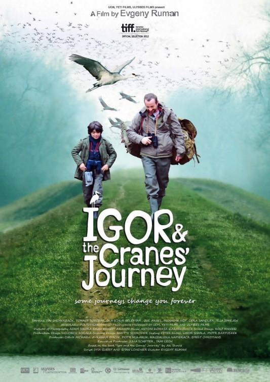 Igor & the Cranes' Journey: la locandina del film