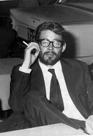 Peter O'Toole con la barba