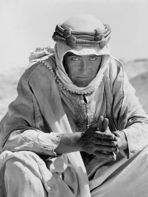 Peter O'Toole è Lawrence d'Arabia (1962)