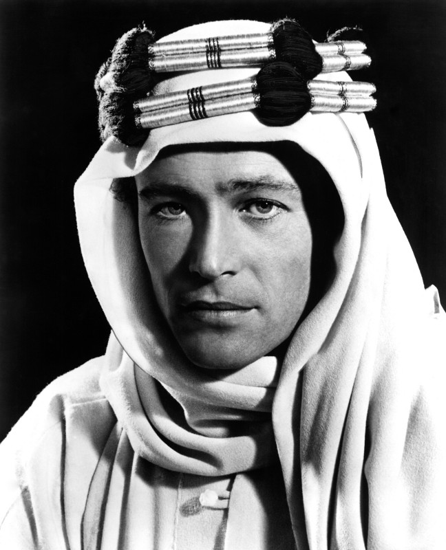 Peter O'Toole è Lawrence d'Arabia