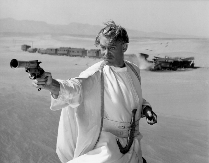 Peter O'Toole in Lawrence d'Arabia (1962)