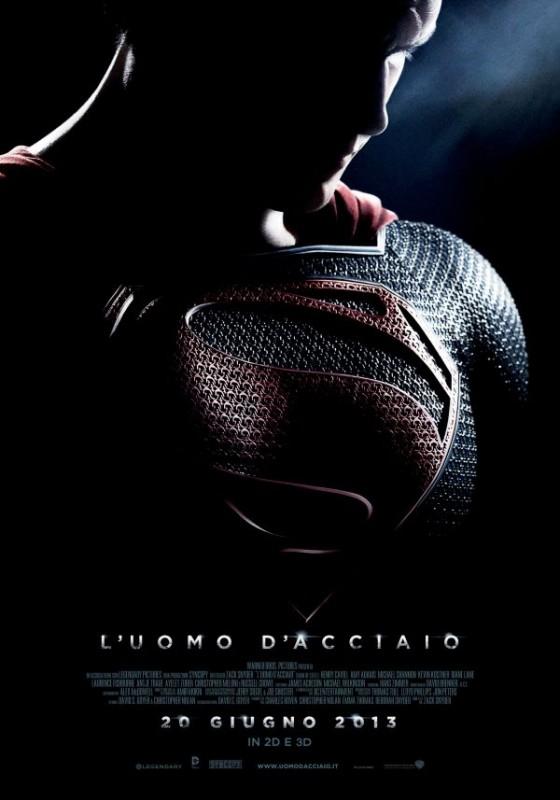 L'uomo d'acciaio: il teaser poster italiano del film
