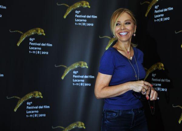 Ornella Muti sorridente al Locarno Film Festival