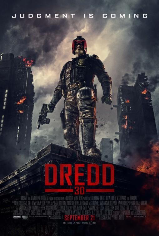 Dredd: nuovo poster USA