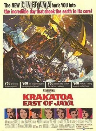 Krakatoa est di Giava: la locandina del film