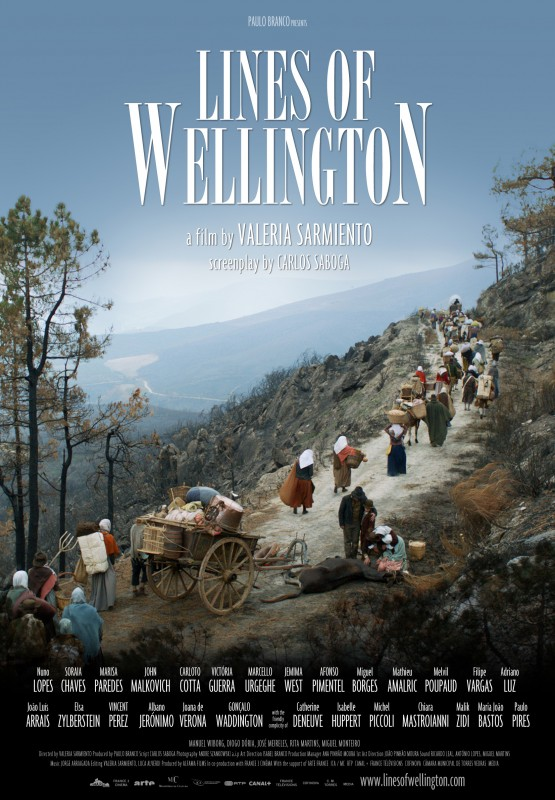 Lines of Wellington: la locandina del film