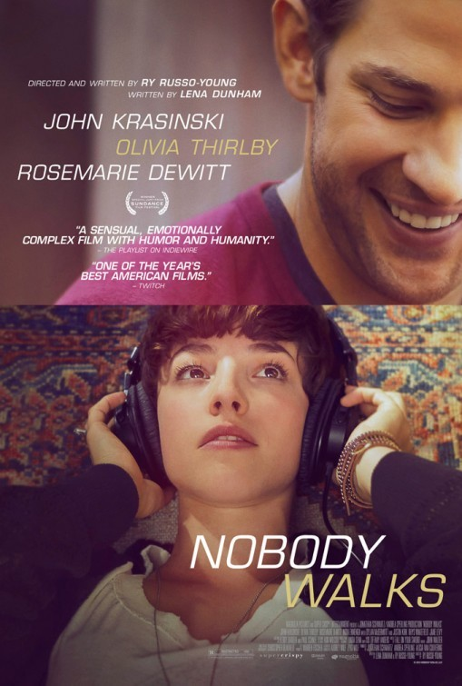 Nobody Walks: la locandina del film