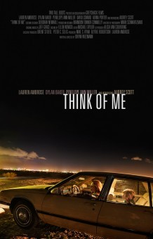 Think of Me: la locandina del film