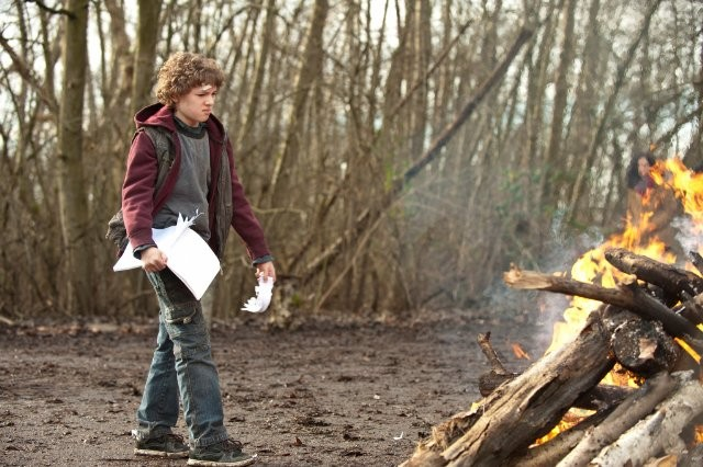 Falling Skies: il giovane Maxim Knight nell'episodio La marcia della morte