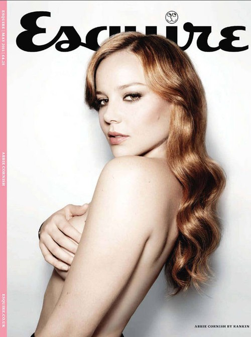 Una splendida Abbie Cornish in cover su Esquire