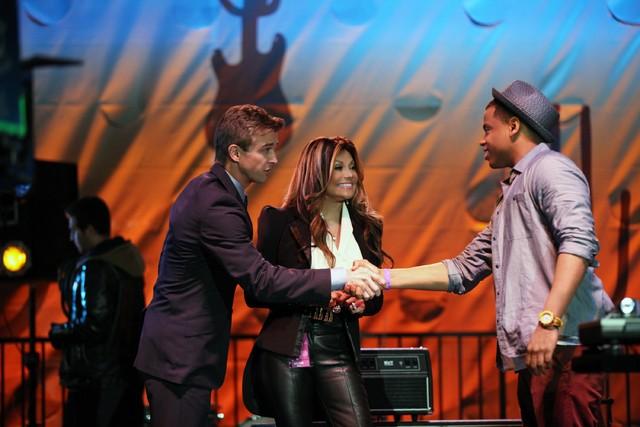 90210: Ron Melendez, La Toya Jackson e Tristan Wilds nell'episodio Blood is Thicker than Mud