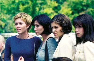 Alyssa Milano, Shannen Doherty, Holly Marie Combs  nell'episodio Patto con il diavolo
