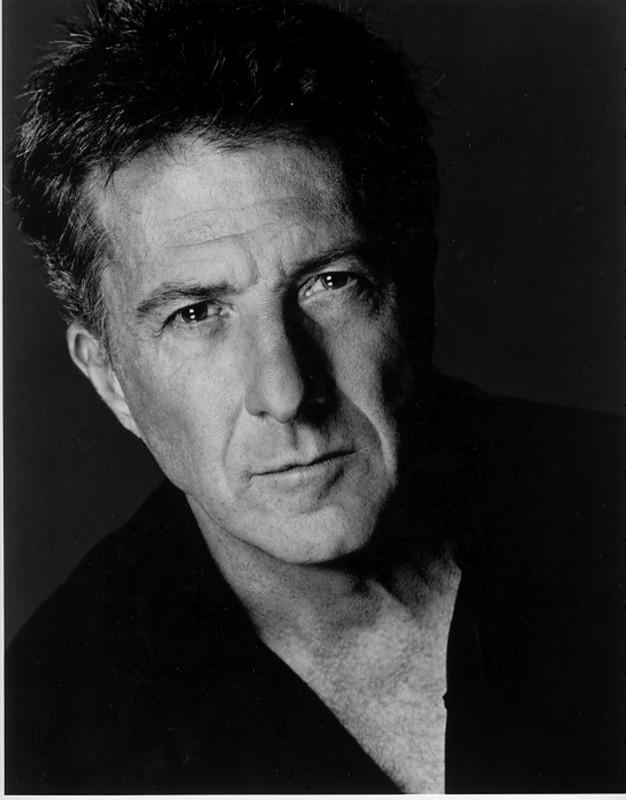 l'attore americano Dustin Hoffman