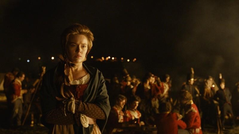 Lines of Wellington: Jemima West in una scena del film