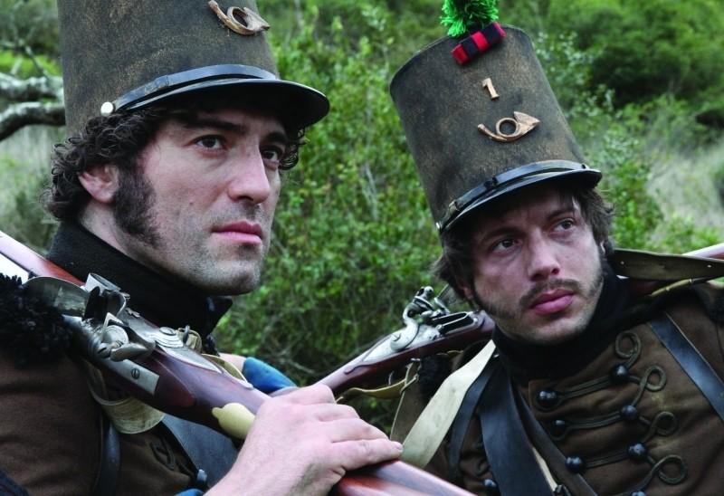 Lines of Wellington: Nuno Lopes insieme ad José Afonso Pimentel in una scena del film