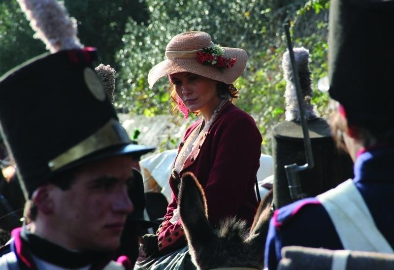 Lines of Wellington: Soraia Chaves in una scena del film