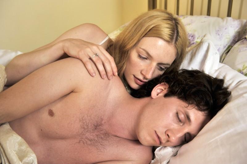 Love Is All You Need: Molly Blixt Egelind e Sebastian Jessen in una scena del film