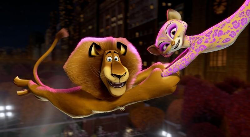 Madagascar 3: ricercati in Europa, Alex e Gia in un ...
