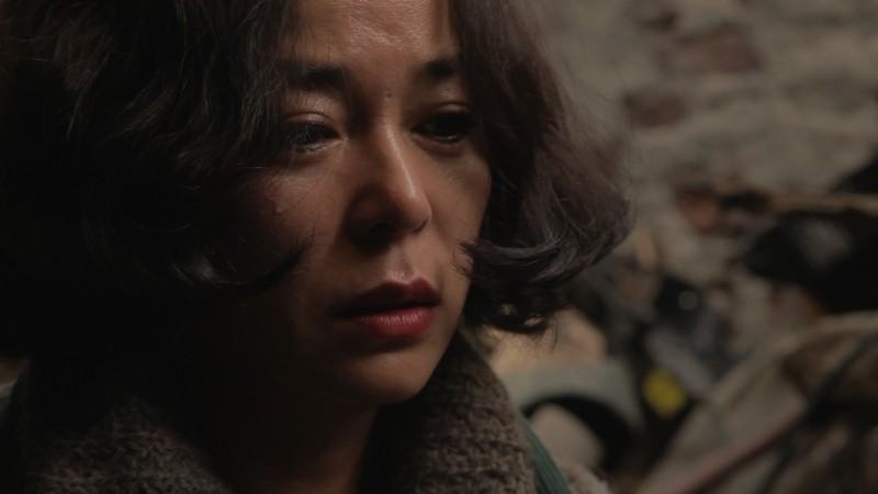 Pietà: la donna del mistero Jo Min-Su in un primo piano tratto dal film