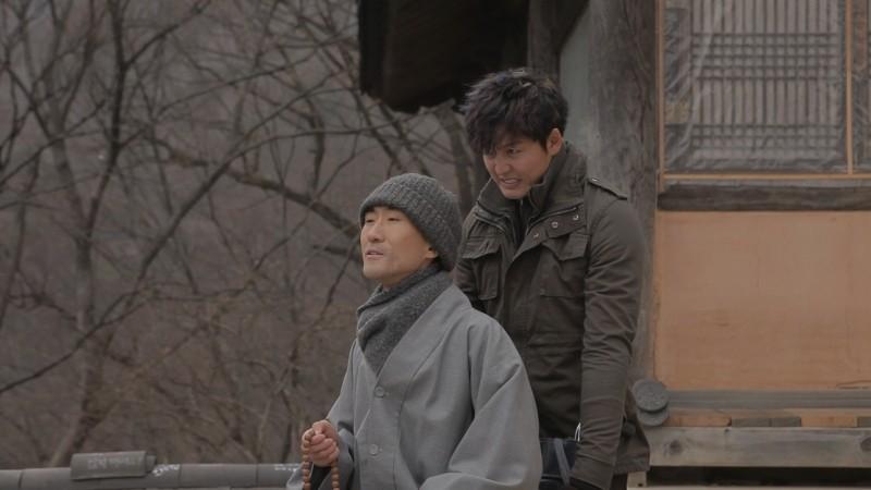 Pietà: Lee Jung-jin in un momento del film