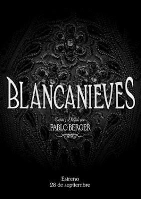 Blancanieves: la locandina del film