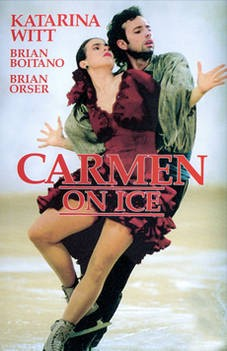 Carmen on Ice: la locandina del film