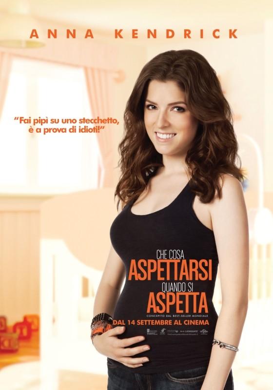 Che cosa aspettarsi quando si aspetta: Character Poster italiano per Anna Kendrick