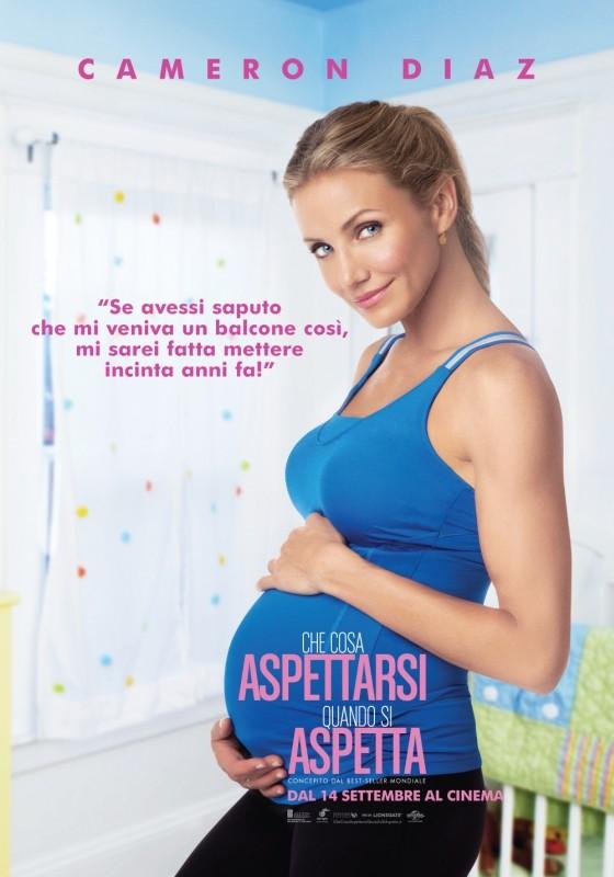 Che cosa aspettarsi quando si aspetta: Character Poster italiano per Cameron Diaz